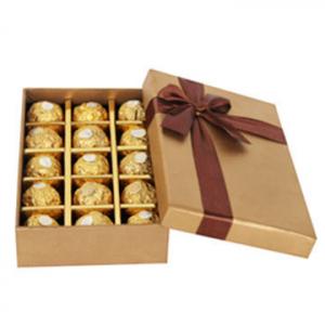 Custom Chocolate Cardboard Boxes