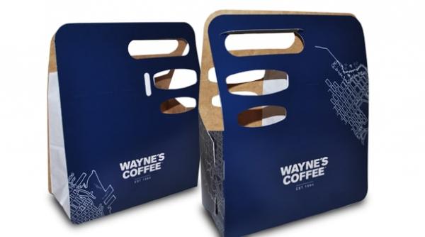 Custom Coffee Take Away Boxes