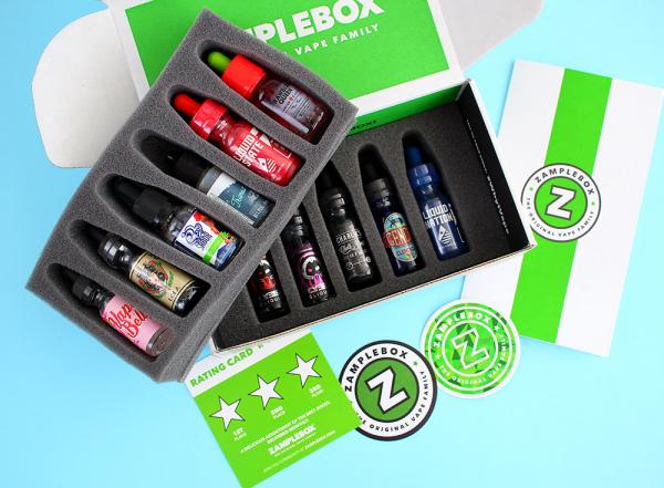 Custom E-liquid Flavour Boxes